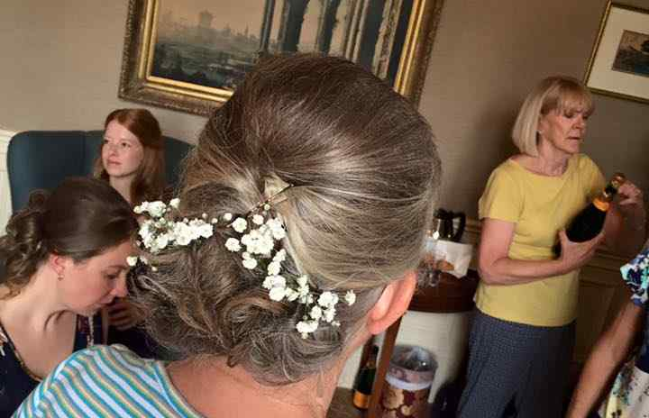 Fox Hairdressing - Wedding Hair 4