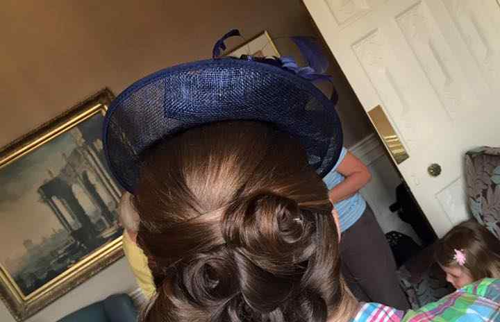 Fox Hairdressing - Wedding Hair 3