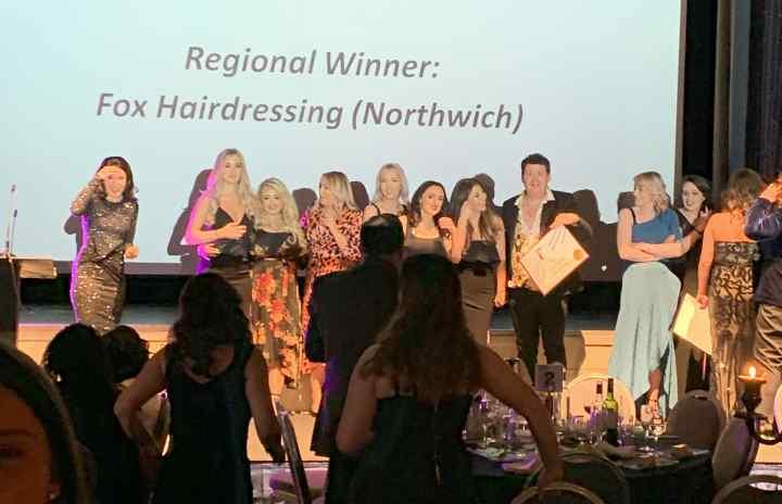Fox Hairdressing Team English Hair & Beauty Awards 2019